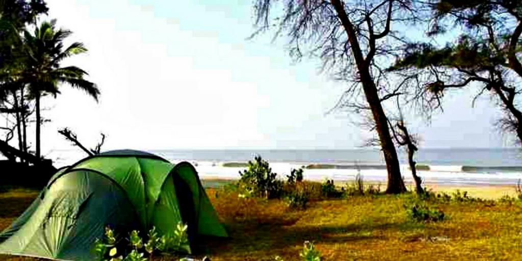 Camping near Pune-revdanda beach
