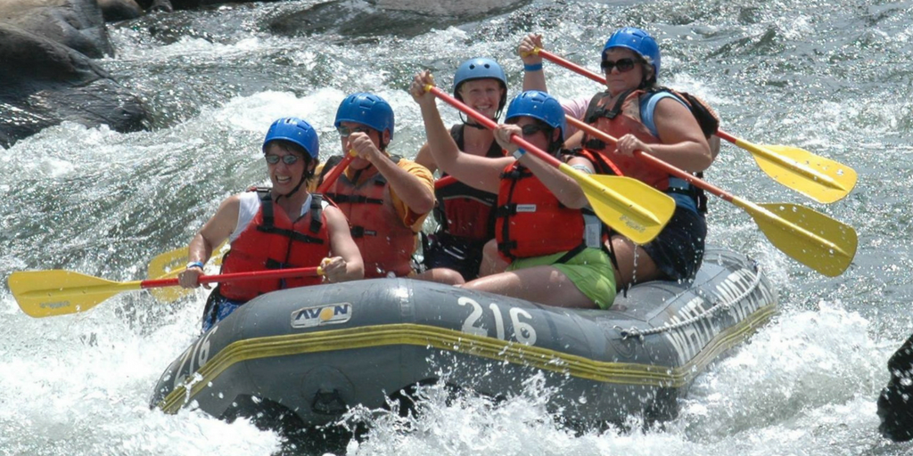 Camping near Pune-White river Rafting