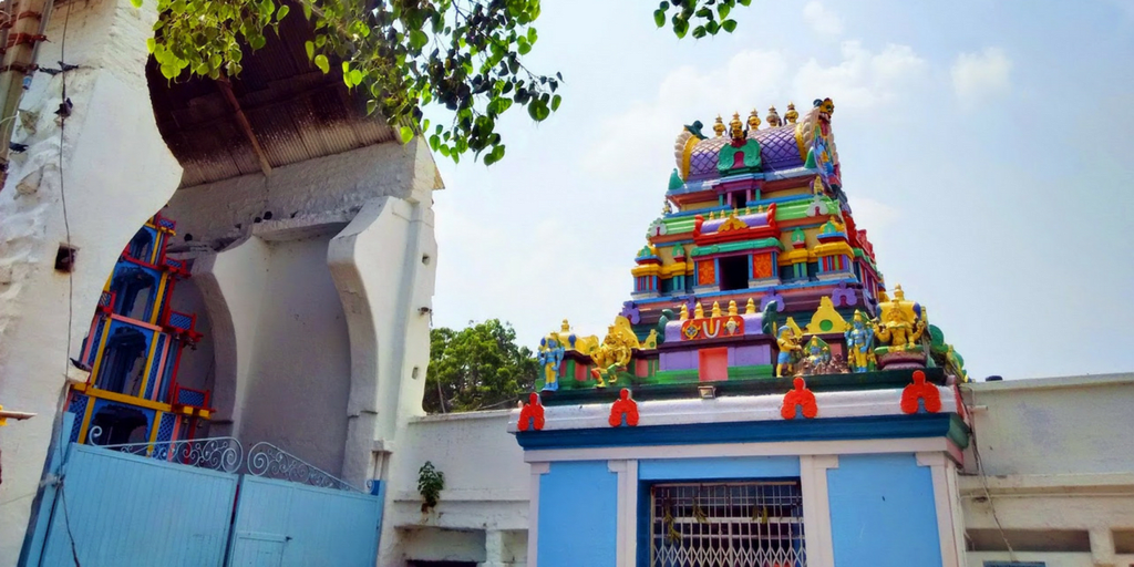 places to visit in Hyderabad in one day-Chilkur balaji temple