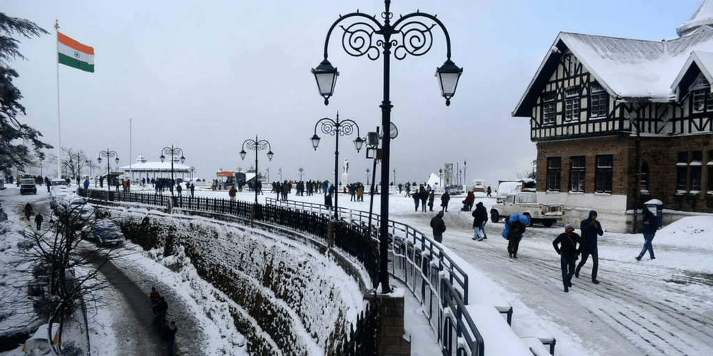 Best holiday Destinations In India-Shimla