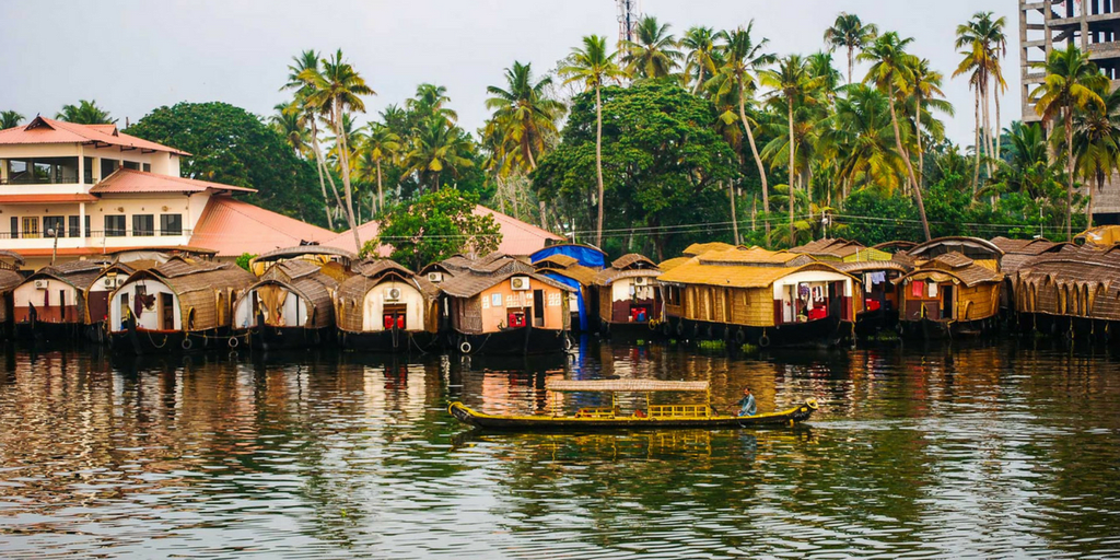 Tourist places in Kerala-Alleppey