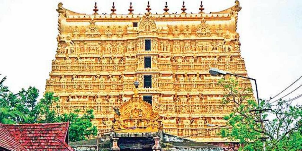 Tourist places in Kerala-Sree Padmanabha swamy temple