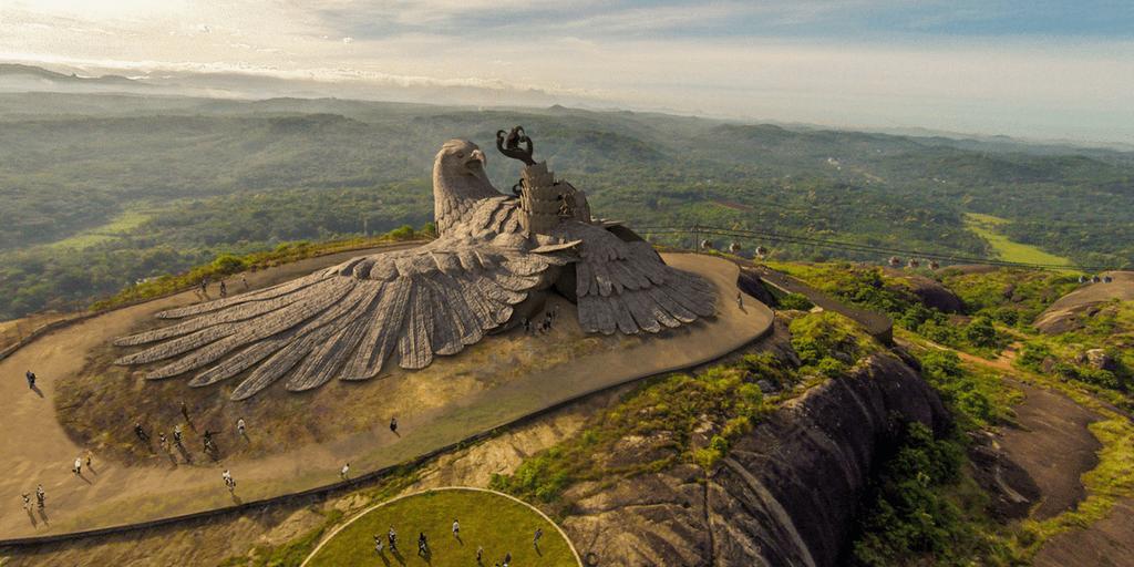Tourist places in Kerala-Bird Jatayu