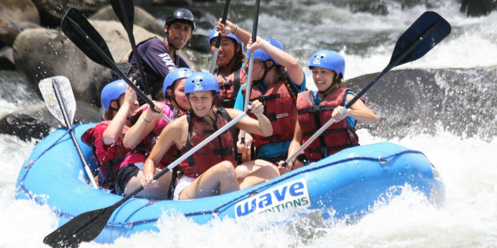 International Women's day -river rafting