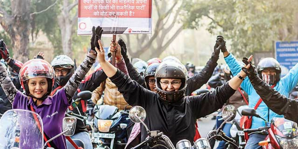 International Women's Day -Women Bike Rally
