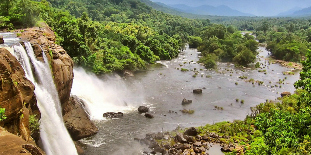 Places to visit near Kochi-Athirapally waterfall