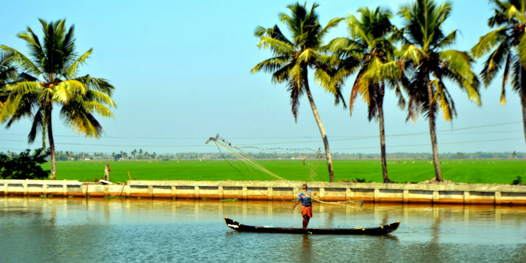 Tourist Places near Kochi-kuttanad