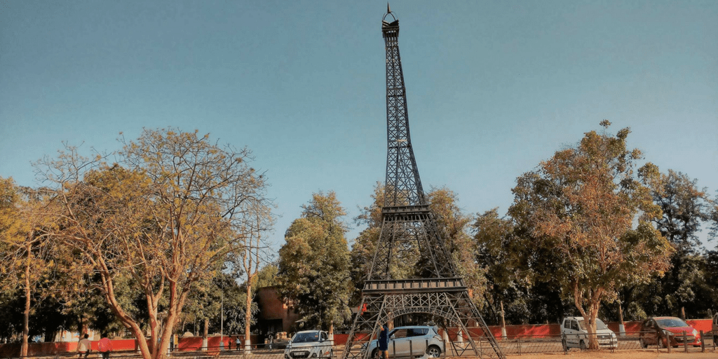 Things to do in Chandigarh-Eiffel Tower