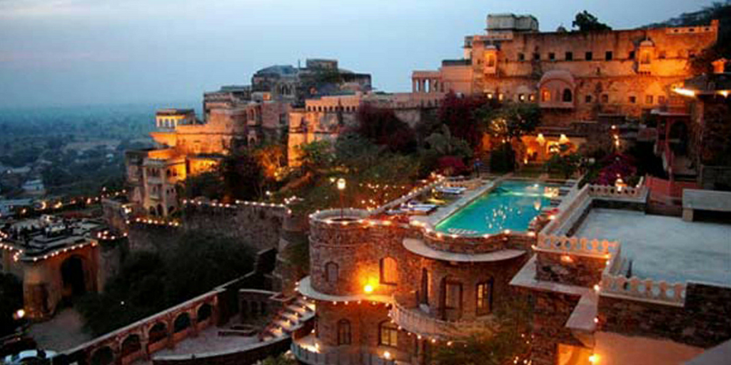 Places to visit near Delhi within 300km-Neemrana town