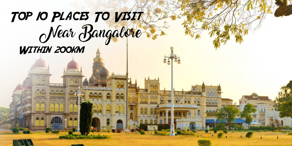 Places to Visit near Bangalore within 200 Kms