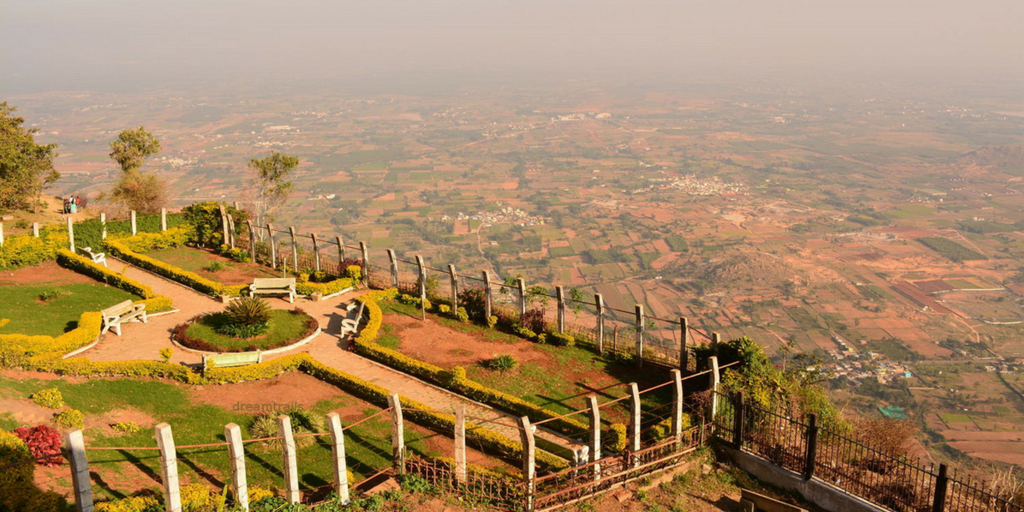 Places to visit in Bangalore in one day - Nandi hill