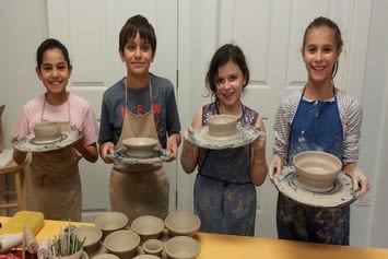 Fun Pottery Lessons