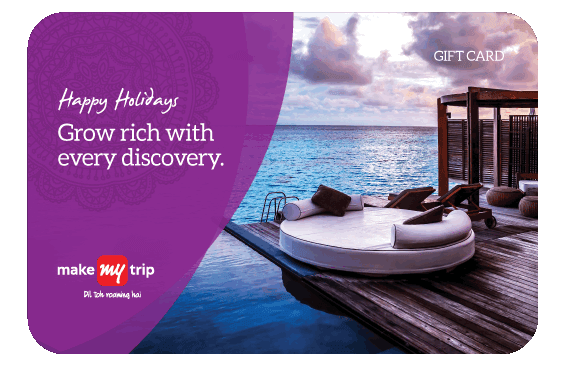Makemytrip Holidays e-Gift Card