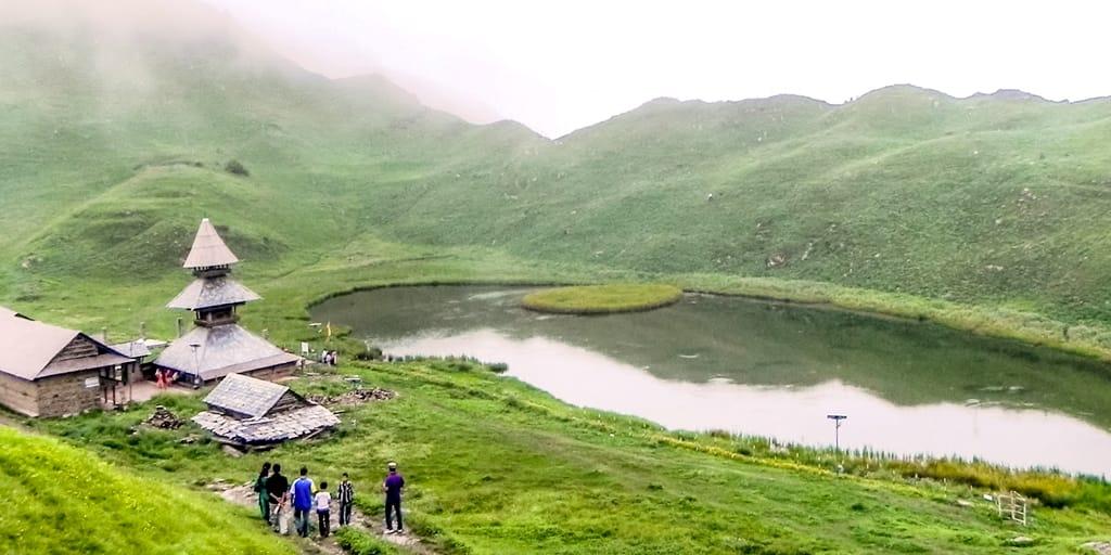Parashar Lake Trek- Trekking near Delhi