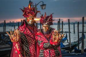 maschere tipiche del carnevale in italia.