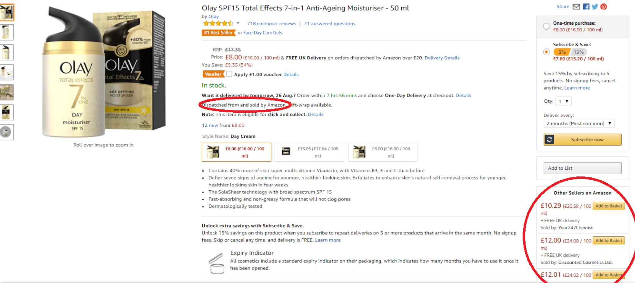 Amazon FBA Business - example