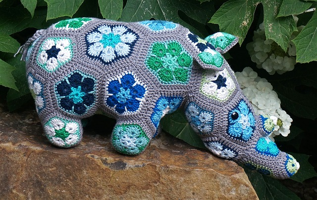 thandi-the-rhinoceros-crochet-self-care activities