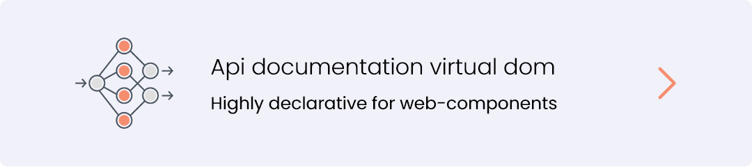 api documentation virtual-dom