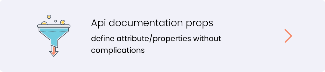 api documentation props