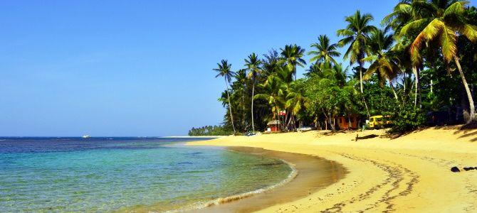 Dominikánská republika, pláž Bonita, poloostrov Samanná