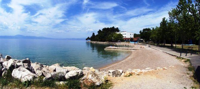 Pláž Rupa – ostrov Krk, Chorvatsko