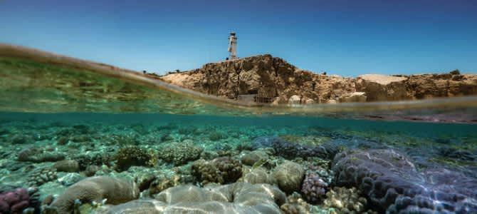 Sharm El Sheikh, pláž Ras Om El Sid, Egypt