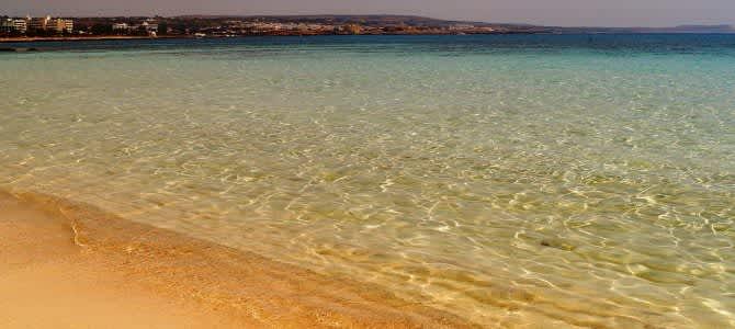 Makronissos Beach, Ayia Napa, Kypr