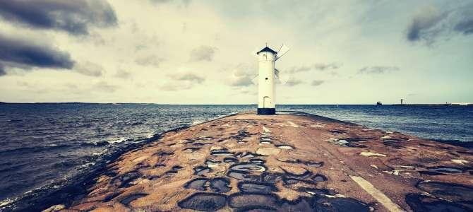 Pláž Miejska Świnoujscie, Svinoústí, Polsko