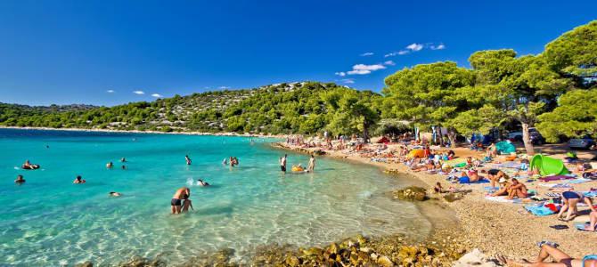 Ostrov Cres, pláž Slatina, Chorvatsko - ideální dovolená  #Cestování
