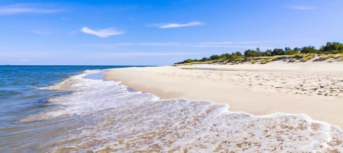 """Leba: nekonečně dlouhá pláž v polském """"Karibiku"""""""
