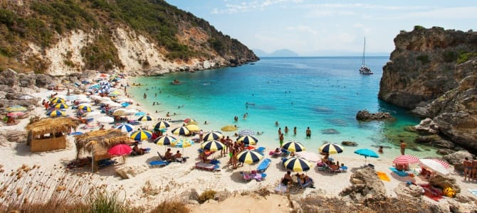 Lefkada, Řecko