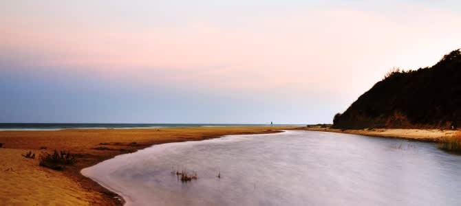 Obzor, pláž Irakli, Bulharsko