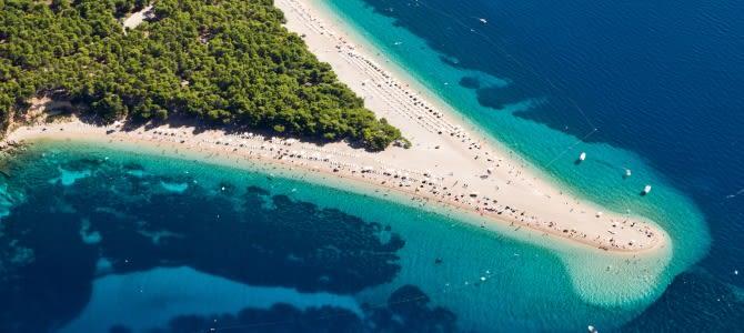 Zlatni rat, Chorvatsko