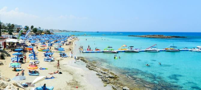 Protaras, Fig Tree Bay, Kypr