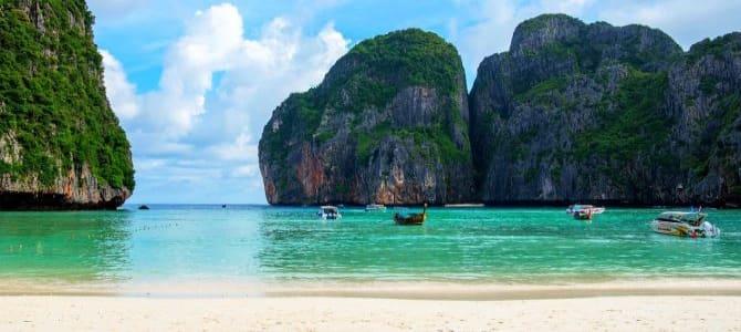 Koh Phi Phi Leh, pláž Maya Bay, Thajsko