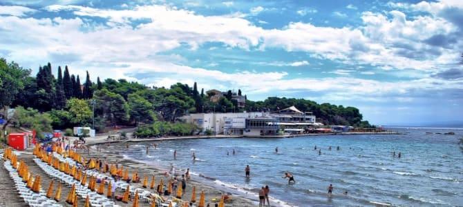 Pláž Bačvice – nejoblíbenější pláž Chorvatska, Split