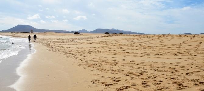 Fuerteventura, Playa de Sotavento, Kanárské ostrovy