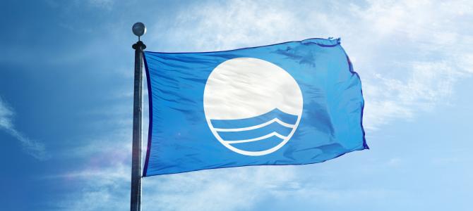 Modrá vlajka jako symbol kvality