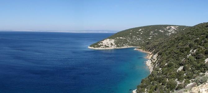 Rab – Rajska plaža, Chorvatsko
