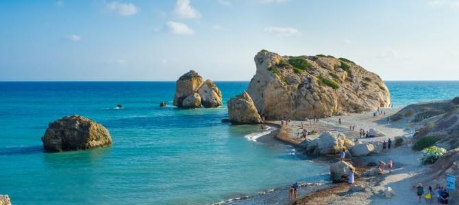 Agia Napa, Nissi Beach, Kypr