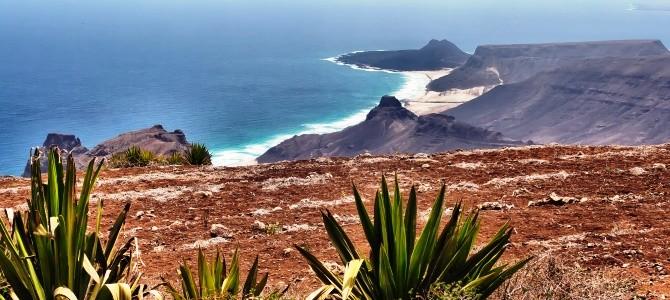 Ostrov Sao Vicente, pláž Calhau, Kapverdské ostrovy