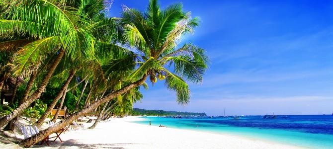 Boracay, pláž White Beach, Filipíny