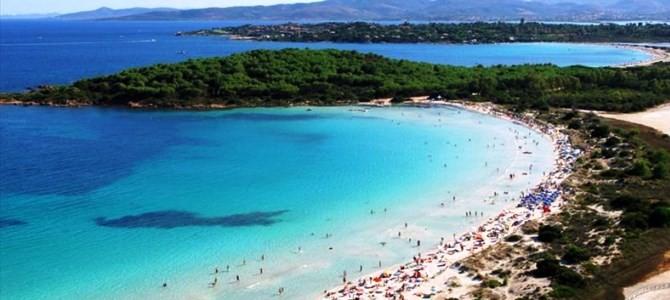 San Teodoro, pláž Cala Brandichi v Itálii