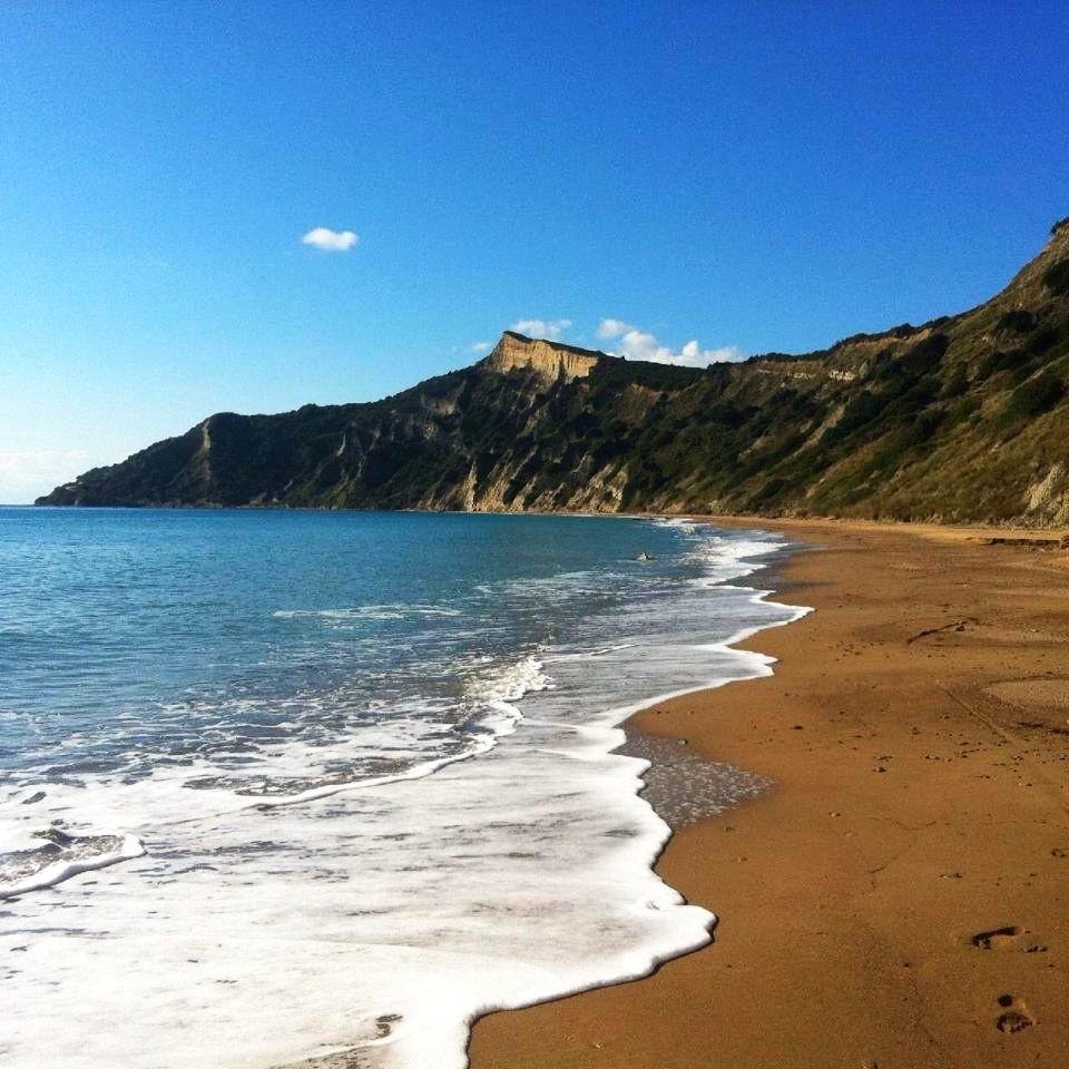 Korfu, pláž Arkoudilas, Řecko – Krásné pláže
