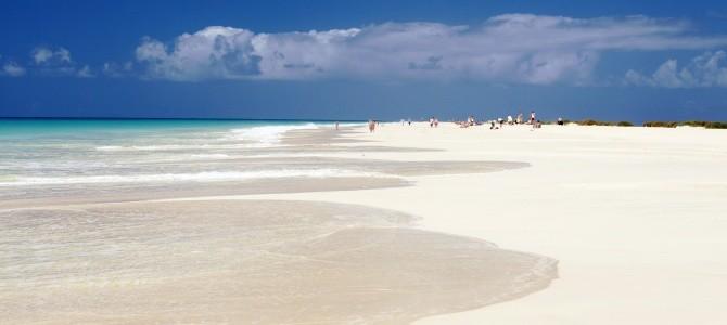 Boa Vista, pláž Santa Monica, Kapverdské ostrovy