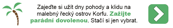 Dovolená - Korfu