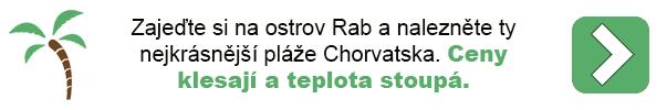 Dovolená - Chorvatsko Rab
