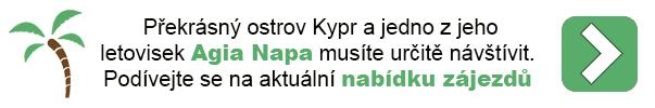 Dovolená na Kypru - Agia Napa