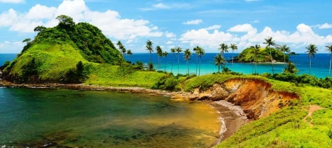El Nido, pláž Nacpan, Filipíny