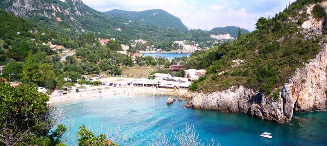 Korfu – Paleokastritsa, Řecko